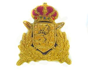 GRAND DUKE OF LUXEMBOURG CAP BADGE (4334436745288)