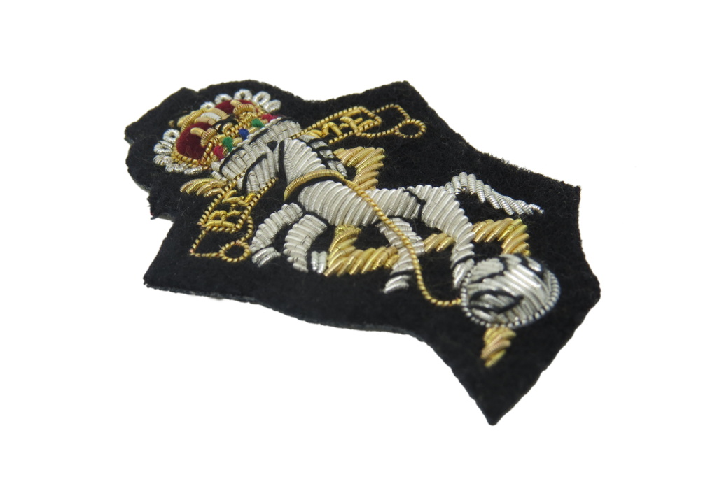 ROYAL ELECTRICAL MECHANICAL ENGINEERS BERET BADGE (4334342045768)