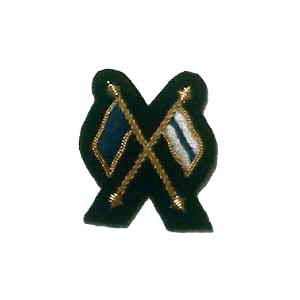 FLAGS - CROSSED, SIGNALS MESS DRESS (4334325235784)