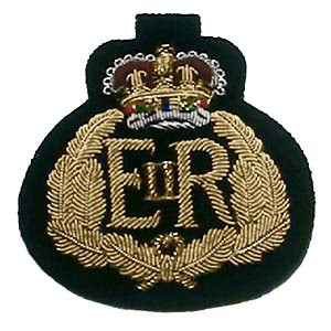 FOREIGN SERVICE CAP BADGE - 1ST AND 2ND CLASS (4334348959816)