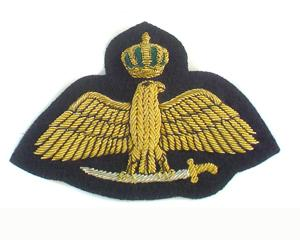 ROYAL JORDANIAN AIR FORCE NO.1 DRESS WINGS ON BLACK (4334417805384)