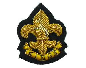 KINGS REGIMENT BERET BADGE (4334339752008)