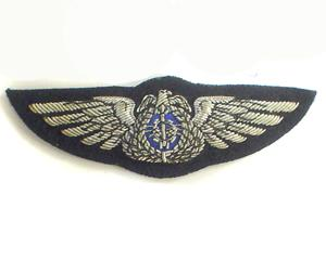 KUWAIT AIR FORCE FULL WINGS ON BLACK (4334420328520)