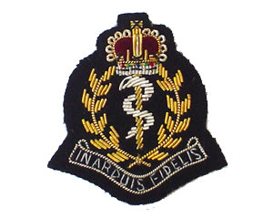ROYAL ARMY MEDICAL CORPS BERET BADGE (4334341292104)