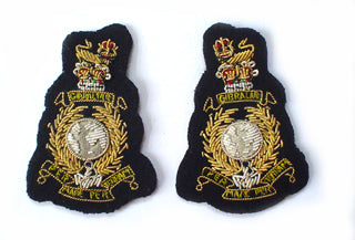 ROYAL MARINES COLONEL COLLAR BADGES (4334373961800)