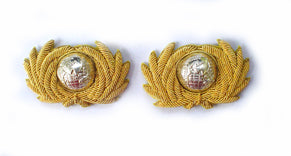 ROYAL MARINES BAND MASTER COLLAR BADGE (4334373535816)