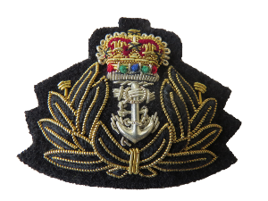 ROYAL NAVY CHAPLAINS BERET BADGE (4334355546184)