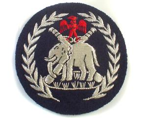NIGERIAN POLICE CAP BADGE (4334424490056)