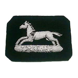 PRINCE OF WALES OWN YORKSHIRE Regiment SIDE CAP CUT OUT (4334335262792)