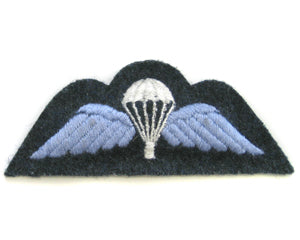 PARACHUTE WINGS ON RAF BLUE (4334377336904)