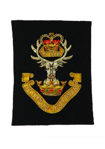 GORDON HIGHLANDERS BLAZER BADGE - STANDARD STYLE (4334344732744)