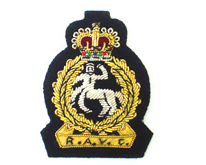 ROYAL ARMY VETERINARY CORPS BERET BADGE (4334341423176)