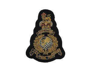 ROYAL MARINES BLAZER BADGE (SMALL) (4334373830728)