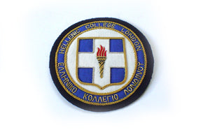 HELLENIC COLLEGE BLAZER BADGE (SMALL) (4334389854280)