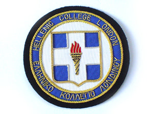 HELLENIC COLLEGE BLAZER BADGE (LARGE) (4334389723208)