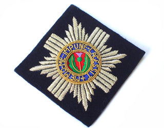 SCOTS GUARDS BLAZER BADGE (4334347911240)