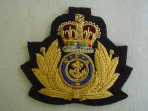 ROYAL FLEET AUXILLIARY BERET BADGE (4334355415112)