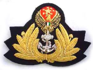 UNITED ARAB EMIRATES NAVAL CAP BADGE (4334433763400)
