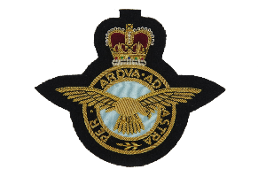 RAF BLAZER BADGE LARGE (4334375764040)