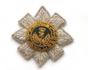 SCOTS GUARDS BERET STAR (SILVER) (4334367473736)