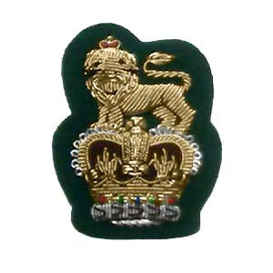 STAFF OFFICERS CAP BADGE