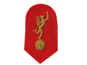 ROYAL CORPS SIGNALS MESS ARM BADGE (4334454276168)