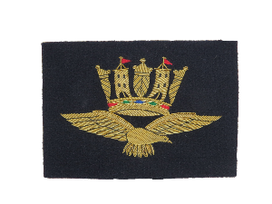 ROYAL NAVY AIR SERVICE BLAZER BADGE (4334355677256)
