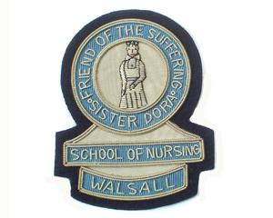 SISTER DORA SCHOOL OF NURSING BLAZER BADGE (4334391885896)