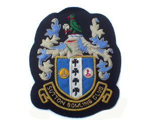 SUTTON BOWLING CLUB BLAZER BADGE (4334388838472)