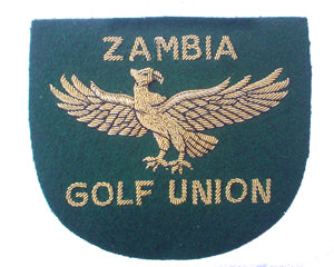 ZAMBIA GOLF UNION BLAZER BADGE (4334389002312)