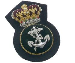 ROYAL NAVY PETTY OFFICER CAP BADGE (4334370226248)