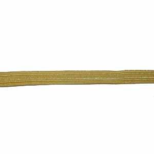 NAVY LACE - GOLD WIRE 1/4 INCH 2WM (4344152817736)