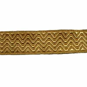 ARTILLERY LACE - GOLD WIRE 1 INCH (4344143216712)