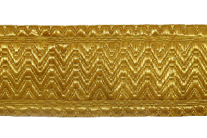 Artillery Lace - Gold Wire 1 5/8 Inches (4344143020104)