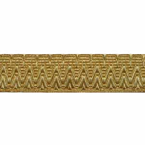 Large Scallop for QDG - Gold 1 Inch Lace (4344150097992)