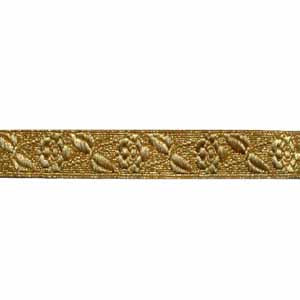 ROSE INFANTRY LACE - GOLD 5/8 INCH (4344150261832)