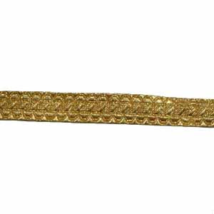 STAFF LACE - GOLD 1/2 INCH (4344149213256)