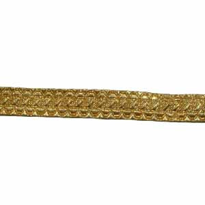 STAFF LACE - GOLD 5/8 INCH (4344149278792)