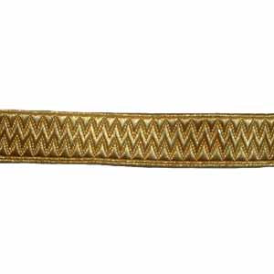 STATE LIVERY LACE - GOLD 3/4 INCH (4344153505864)
