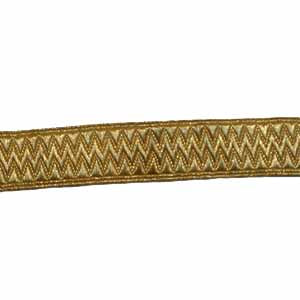 STATE LIVERY LACE - GOLD 1 INCH (4344153473096)