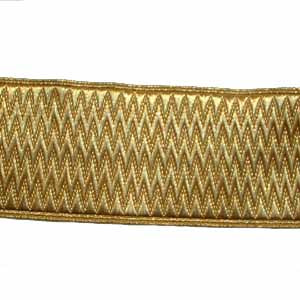 STATE LIVERY LACE - GOLD 1 3/4 INCHES (4344145117256)