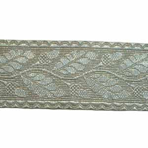 OAK LEAF LACE - 90% SILVER 1 1/2 INCHES (4344147804232)