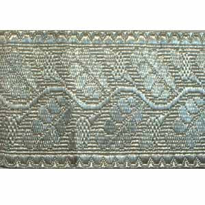 OAK LEAF LACE - 90% SILVER 2 1/2 INCHES (4344148492360)
