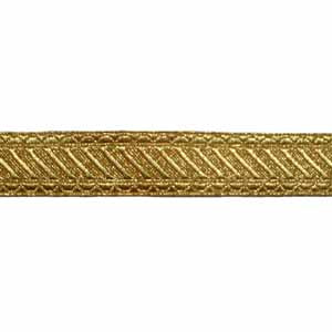 GRANBY LACE - 2 W/M GOLD 3/4 INCH (4344145707080)