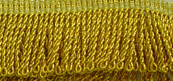 1 INCH DROP GOLD MYLAR THREAD FRINGE