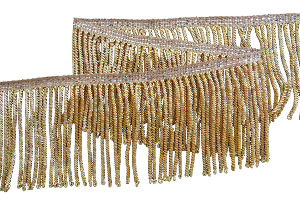 GOLD PLATED BULLION FRINGE 2 1/2 INCH (60 mm) (4334639906888)