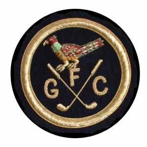 FAVERSHAM GOLF CLUB BLAZER BADGE (4334387986504)