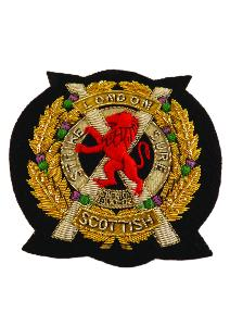 London Scottish Regiment Blazer Badge (4334345748552)
