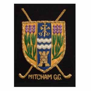 MITCHAM GOLF CLUB BLAZER BADGE (4334388346952)