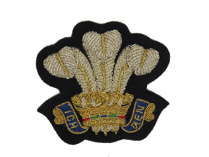 PRINCE OF WALES BLAZER BADGE (4334346010696)